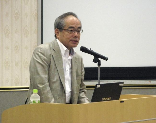 末廣昭氏(東京大学社会科学研所教授)
