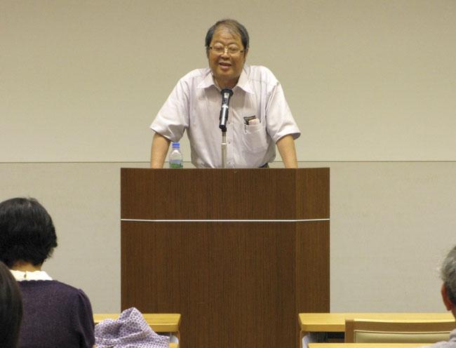 川村湊氏(福岡ユネスコ文化講演会「言葉でアジアを描く―現代文学とアジア」)