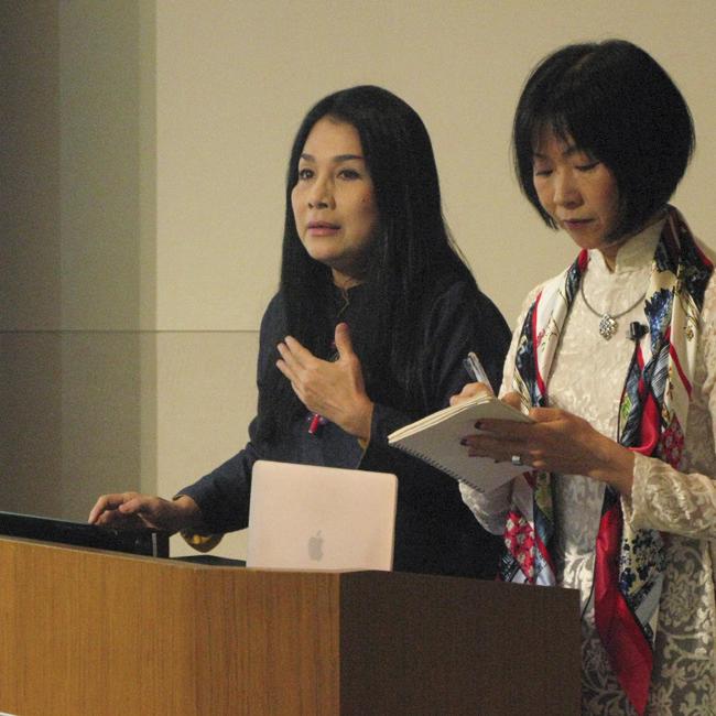 ミン・ハン氏〜福岡ユネスコ・アジア文化講演会「アオザイ 〜その伝統的価値と現代生活への影響力」(2018年)