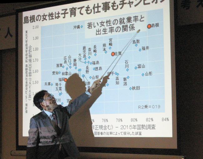 人口減少社会 ― その可能性を考える(福岡ユネスコ協会)藻谷浩介氏