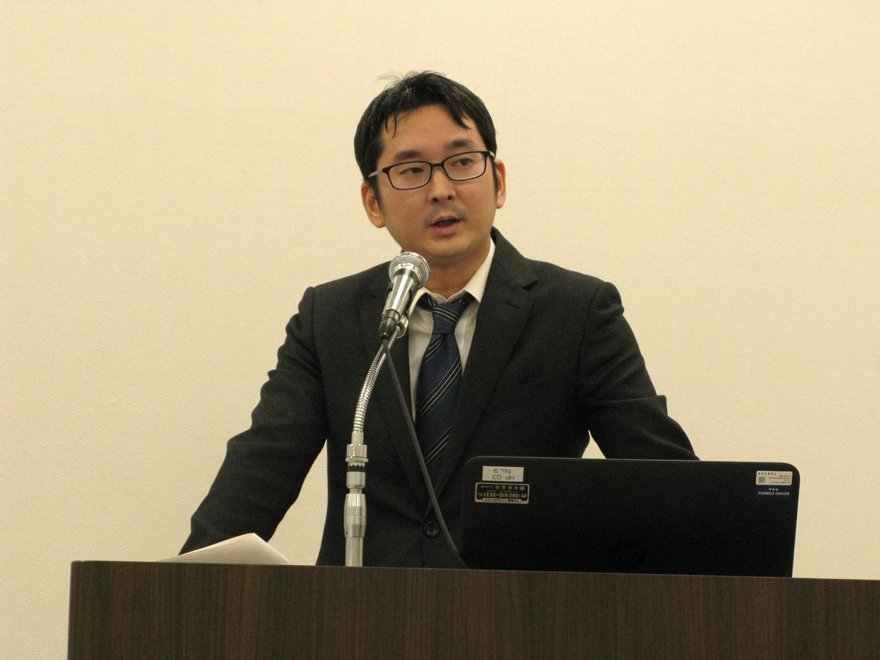伊藤亜聖氏(福岡ユネスコアジア文化講演会)