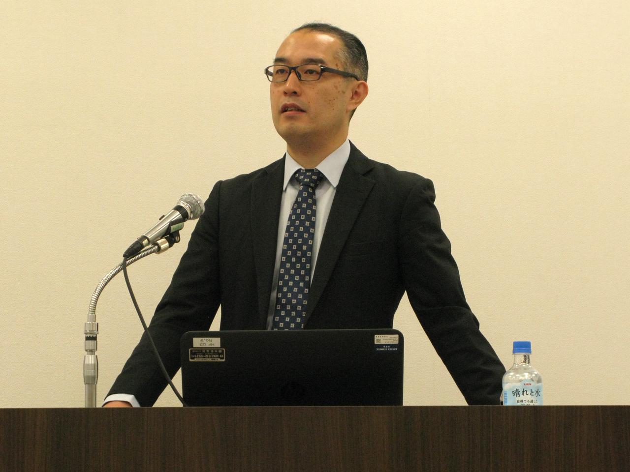 林大輔氏(福岡ユネスコアジア文化講演会)