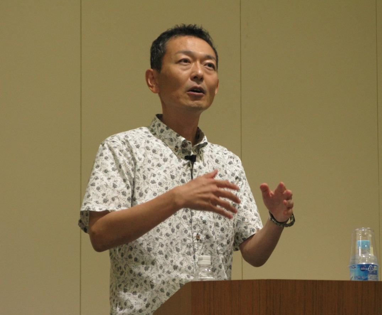 武井弘一氏(「琉球沖縄史を見る眼 〜なぜ『茶と琉球人』を書いたのか?」より)