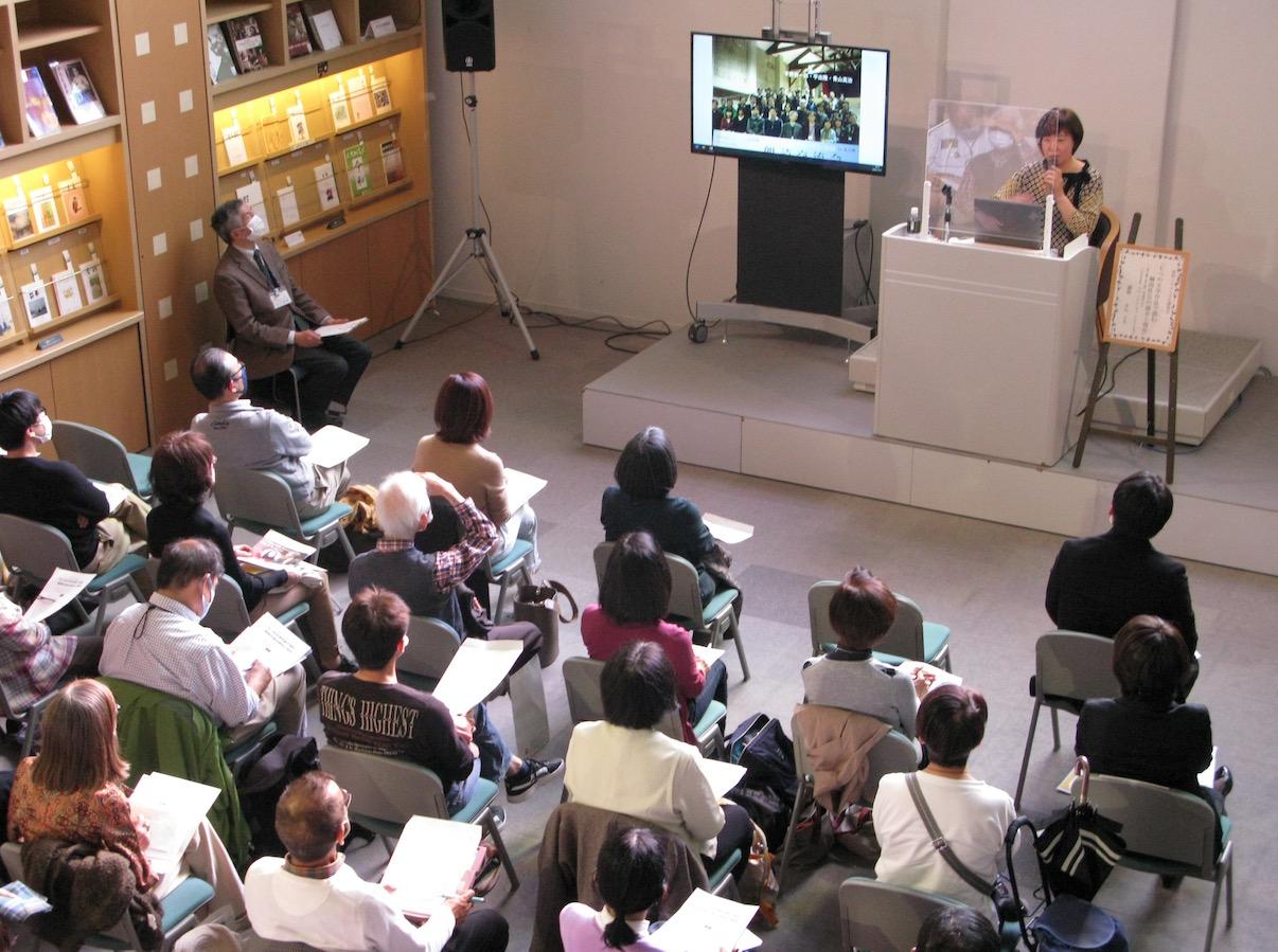 「七つの文学作品で読む韓国社会の過去と現在」(きむ ふな氏講演会)